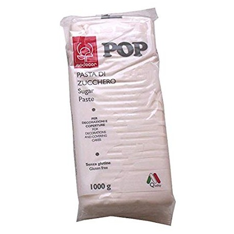 Pasta di zucchero MODECOR POP bianca1 kg - Modecor in vendita su Sugarmania.it