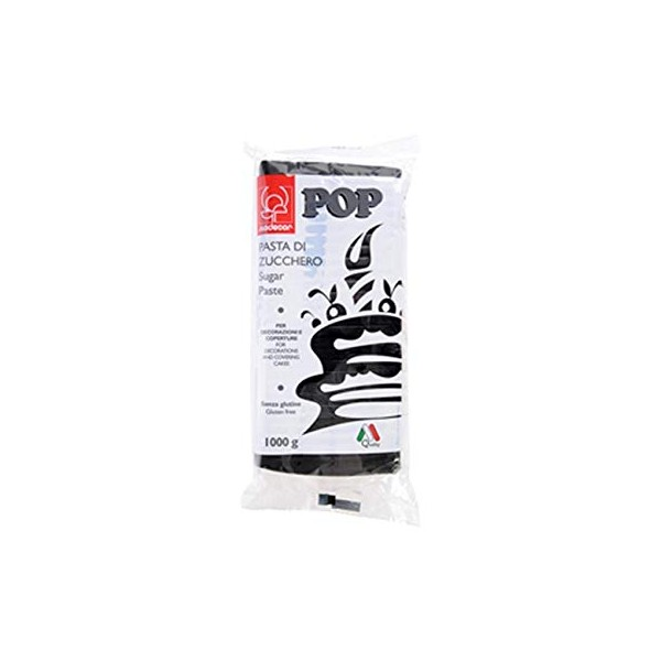 Pasta di zucchero MODECOR POP nero 1 kg - Modecor in vendita su Sugarmania.it