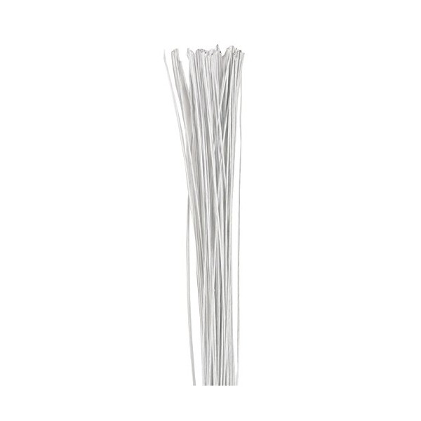 Floral Wire WHITE Culpitt 26 gauge - Culpitt in vendita su Sugarmania.it