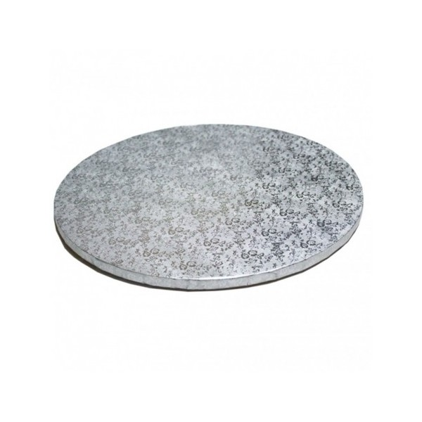 Cake board TONDO 25 CM spessore 1,2 cm - Modecor in vendita su Sugarmania.it