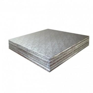 Cake board quadrato 25x25 cm spessore 1,2 cm - Modecor in vendita su Sugarmania.it