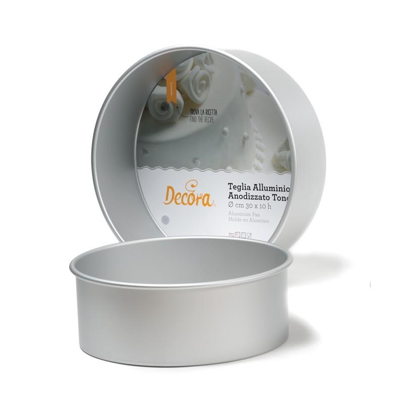 Teglia tonda professionale Decora 10 cm - in vendita su Sugarmania.it