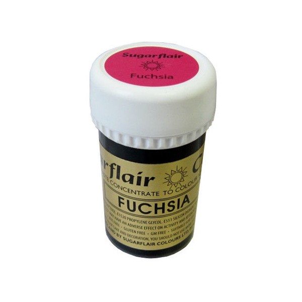 Sugarflair Paste Colour FUCHSIA 25g - Sugarflair in vendita su Sugarmania.it