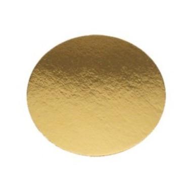 Dischi sottotorta oro leggeri 20 cm - Cartoplast Sud in vendita su Sugarmania.it