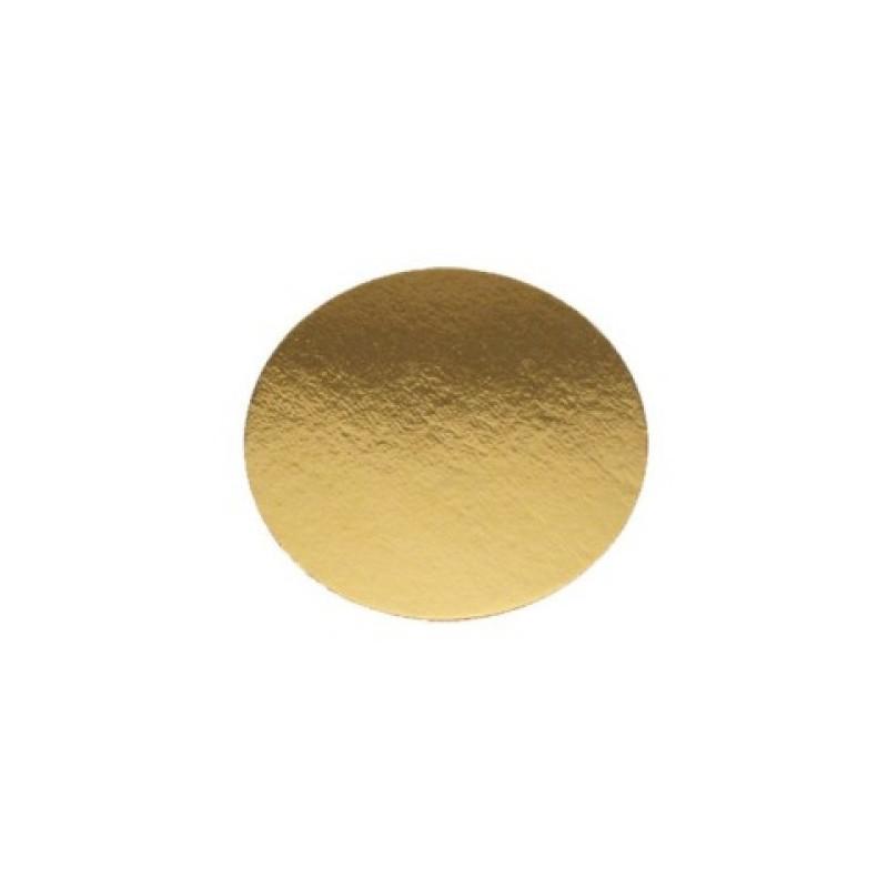 Dischi sottotorta oro leggeri 24 cm - Cartoplast Sud in vendita su Sugarmania.it