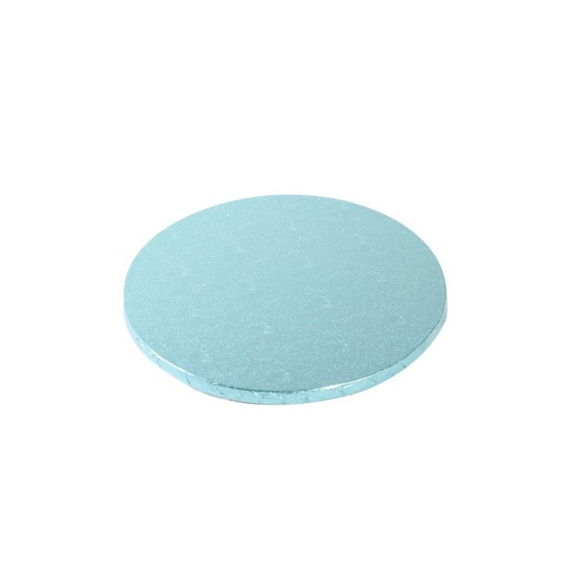 Cake Board TONDO Celeste Decora - h 1,2 cm / Ø assortiti - Decora in vendita su Sugarmania.it