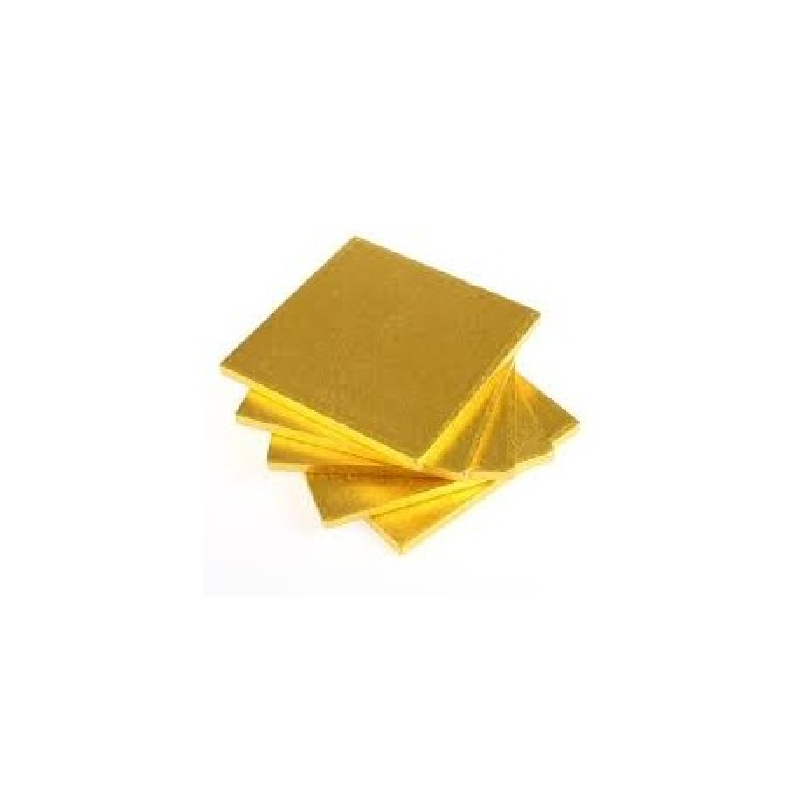 Cake board ORO QUADRATO 40 cm spessore 1,2 cm - Modecor in vendita su Sugarmania.it