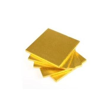Cake board ORO QUADRATO  30 cm spessore 1,2 cm
