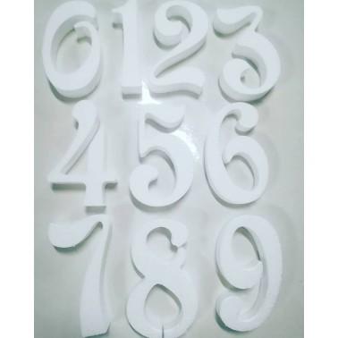 Numeri di polistirolo per torte altezza 10 cm - in vendita su Sugarmania.it