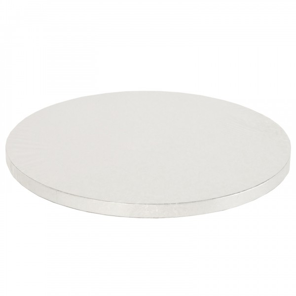 Cake Board TONDO Bianco Decora - h 1,2 cm / Ø assortiti - Decora in vendita su Sugarmania.it