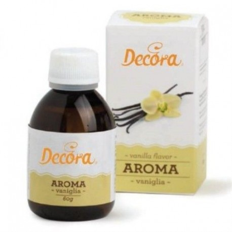 Aroma vaniglia Decora 56 ml - Decora in vendita su Sugarmania.it