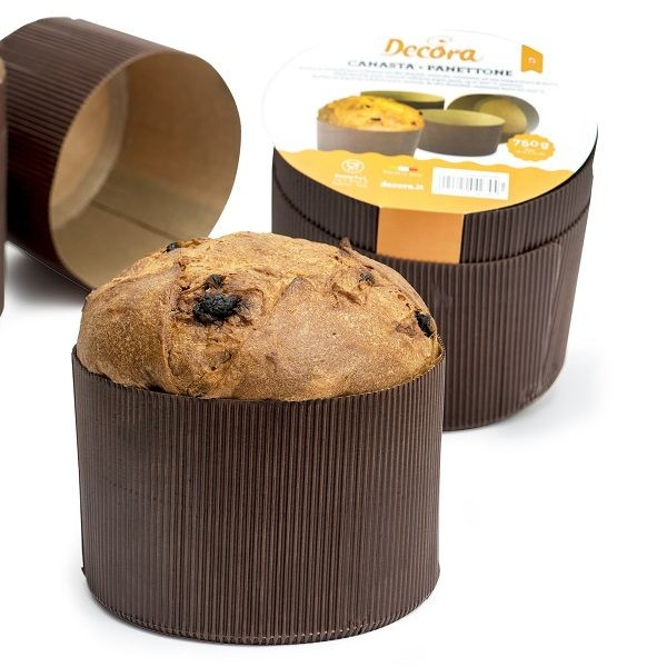 Set 5 forme canasta panettone 1 kg - Decora in vendita su Sugarmania.it