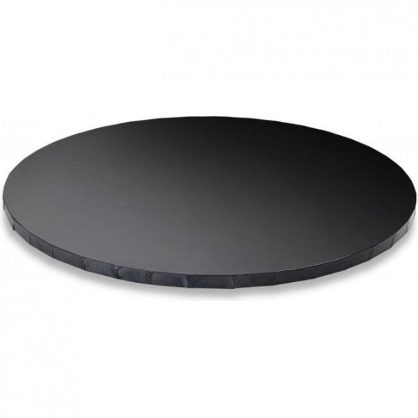 Cake Board TONDO Nero Decora - h 1,2 cm / Ø assortiti - Decora in vendita su Sugarmania.it