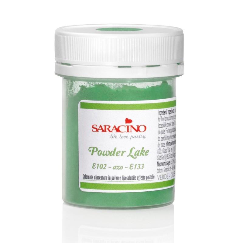 Colorante alimentare in polvere Verde Saracino 5 g - in vendita su Sugarmania.it