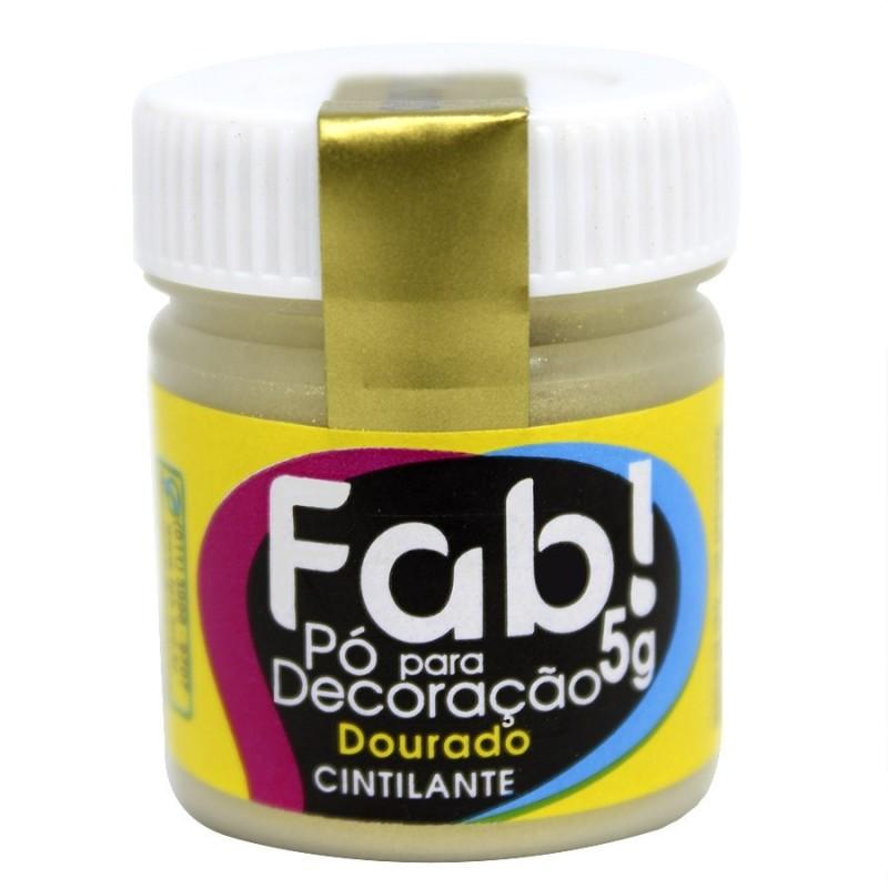 Colorante per dolci oro scintillante in polvere FAB 5 g -  in vendita su Sugarmania.it