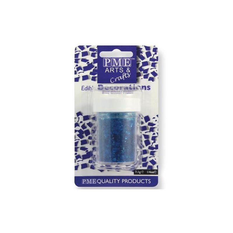 Glitter commestibile PME 7 grammi Blu - PME in vendita su Sugarmania.it