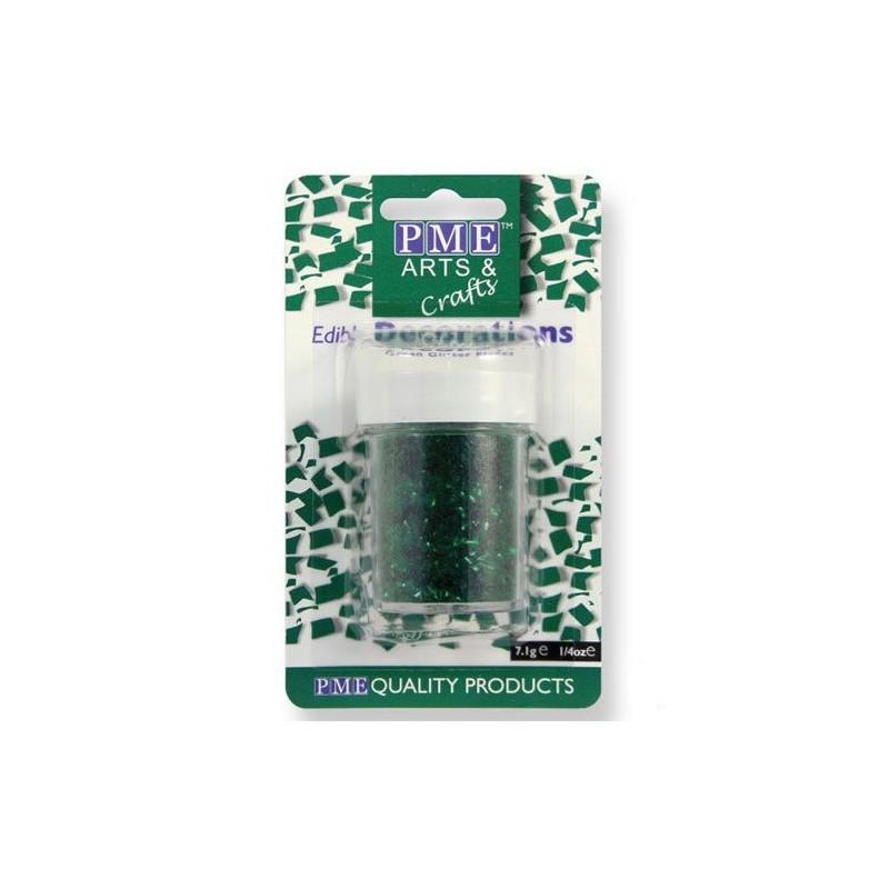 Glitter commestibile PME 7 grammi Verde - PME in vendita su Sugarmania.it