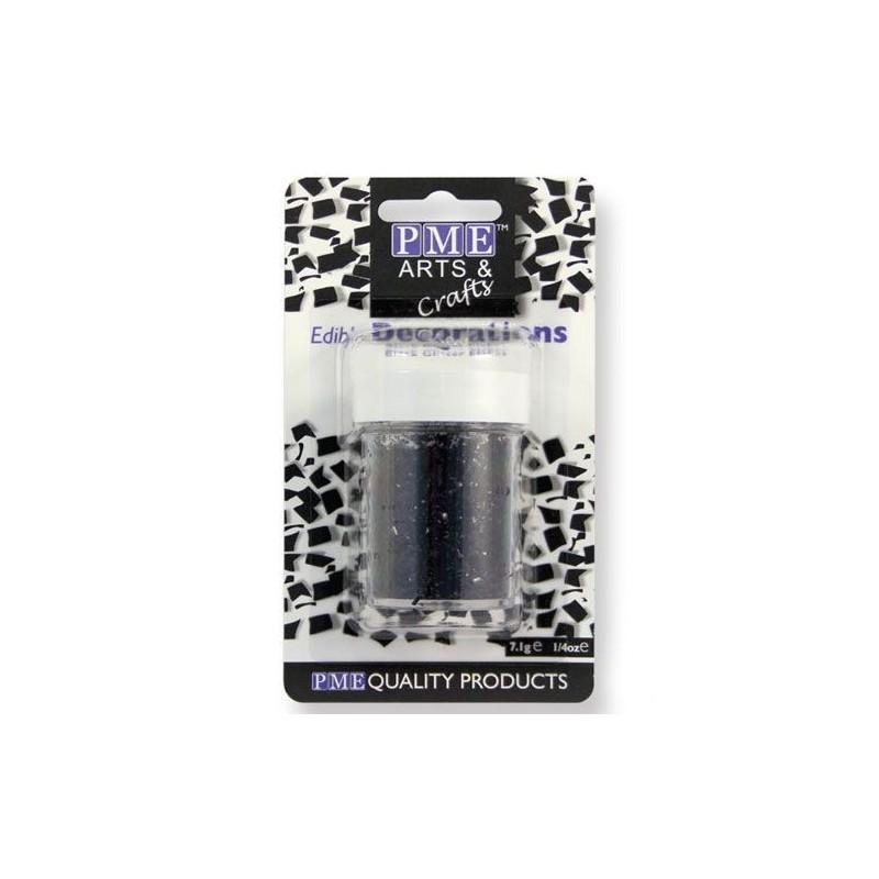 Glitter commestibile PME 7 grammi Nero - PME in vendita su Sugarmania.it