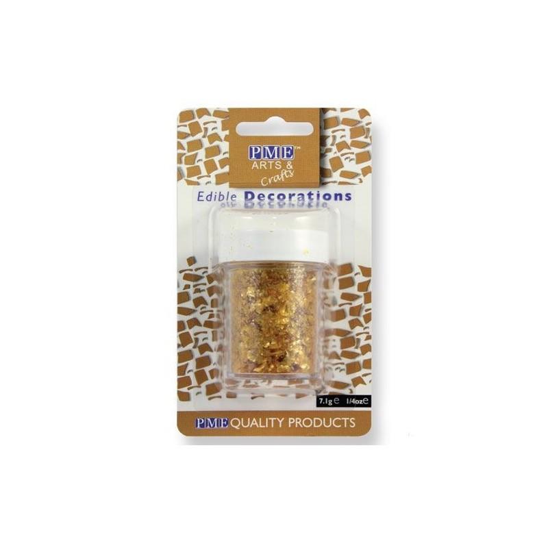 Glitter commestibile PME 7 grammi Oro - PME in vendita su Sugarmania.it