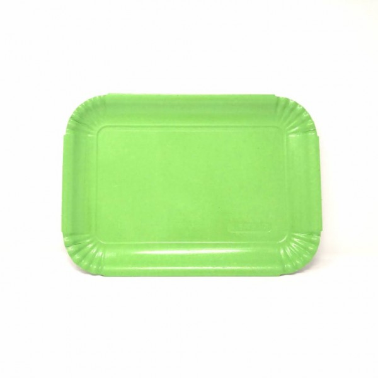 Vassoio per pasticceria Verde 29x20.5 cm