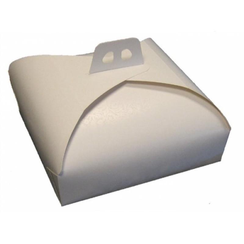 Scatola per torta 23 x 23 cm - Cartoplast Sud in vendita su Sugarmania.it