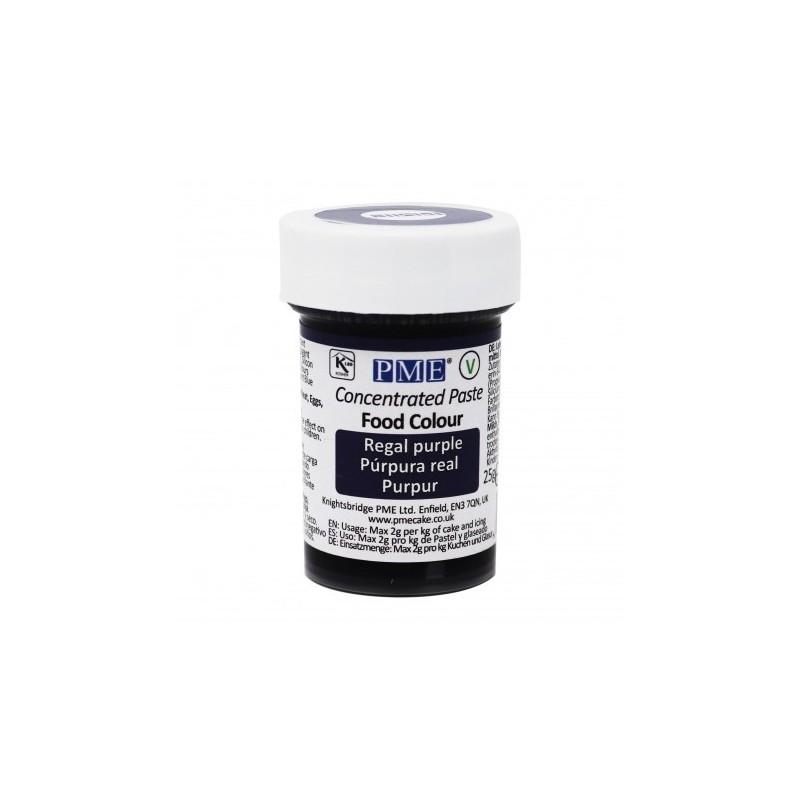 Colorante alimentare in pasta Regal Purple PME 25 g - PME in vendita su Sugarmania.it