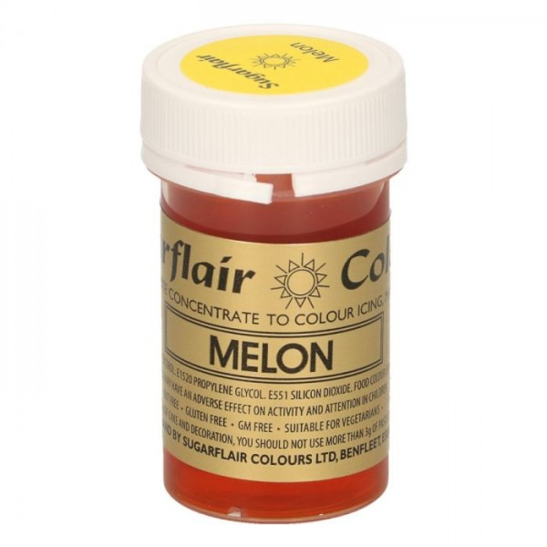 Sugarflair Paste Colour MELON, 25gr. - Sugarflair in vendita su Sugarmania.it