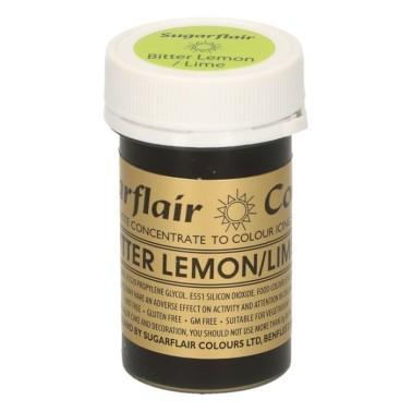 Sugarflair Paste Colour BITTER LEMON/LIME, 25gr. - Sugarflair in vendita su Sugarmania.it