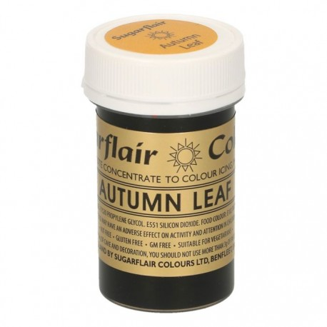 Sugarflair Paste Colour AUTUMN LEAF 25g - Sugarflair in vendita su Sugarmania.it