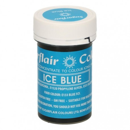 Sugarflair Paste Colour ICE BLUE, 25g - Sugarflair in vendita su Sugarmania.it