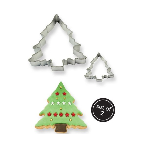 Set 2 cutter albero di Natale PME - PME in vendita su Sugarmania.it