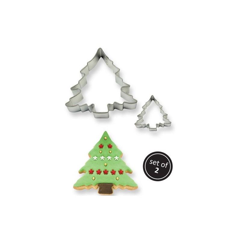 Set 2 cutter albero di Natale PME - PME in vendita su Sugarmania.it