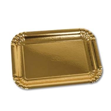 Vassoio per pasticceria Oro 29x20.5 cm -  in vendita su Sugarmania.it