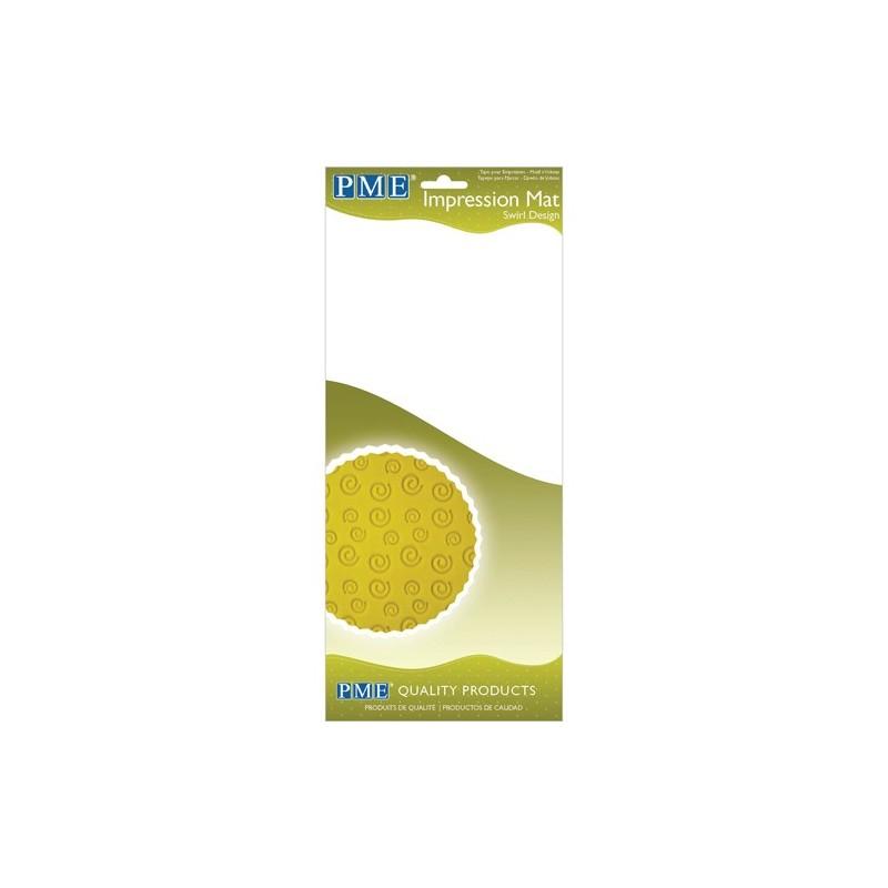 Tappetino PME Impressione Swirl Design - PME in vendita su Sugarmania.it