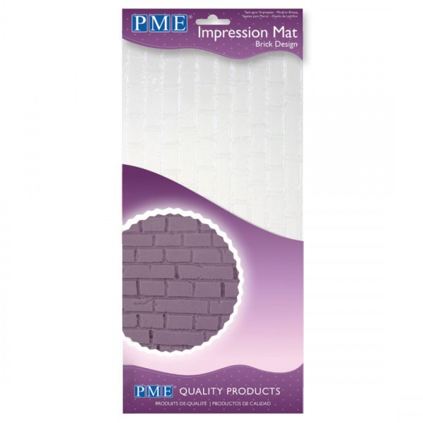 Tappetino PME Impressione Brick/ Muro - PME in vendita su Sugarmania.it