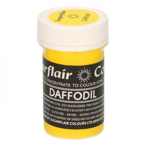 Sugarflair Daffodil Pastel Paste Colour - 25g - Sugarflair in vendita su Sugarmania.it