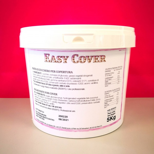 Pasta di zucchero Easy Cover Sugarmania 5 kg - Sugarmania in vendita su Sugarmania.it