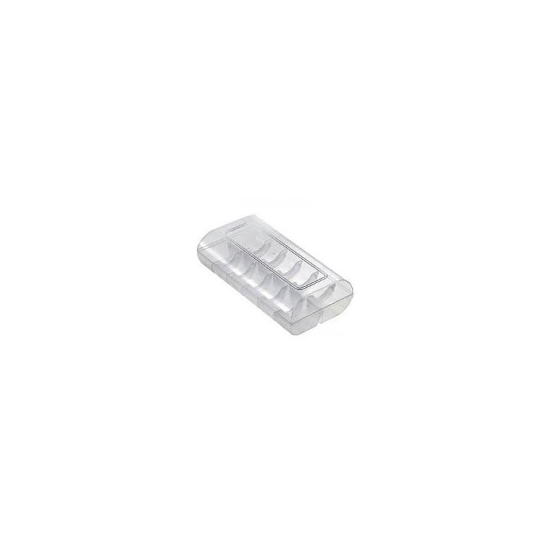 Scatolina per 12 macarons trasparente rigida - Silikomart in vendita su Sugarmania.it