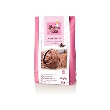 Preparato per gelato al cacao 200 g Madam Loulou - Madam Loulou in vendita su Sugarmania.it