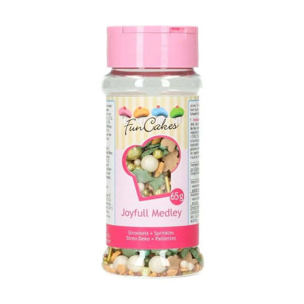 Sprinkle medley Joyfull 65 g FunCakes - Funcakes in vendita su Sugarmania.it