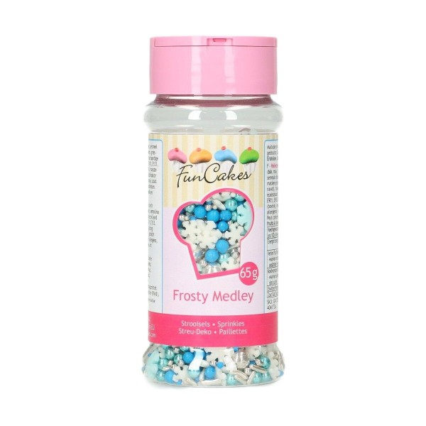 Sprinkle medley Frosty 65 g FunCakes - Funcakes in vendita su Sugarmania.it