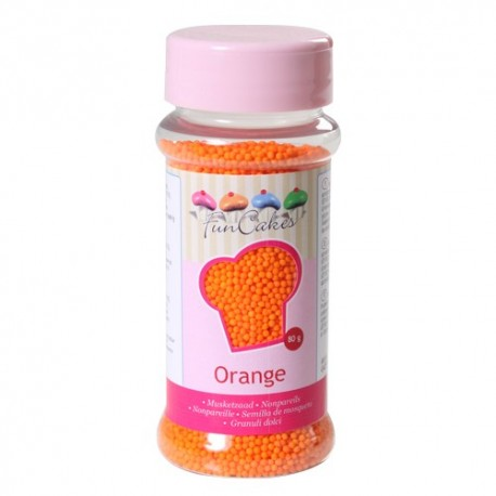 Mompariglia FunCakes ARANCIONE 80 g - Funcakes in vendita su Sugarmania.it