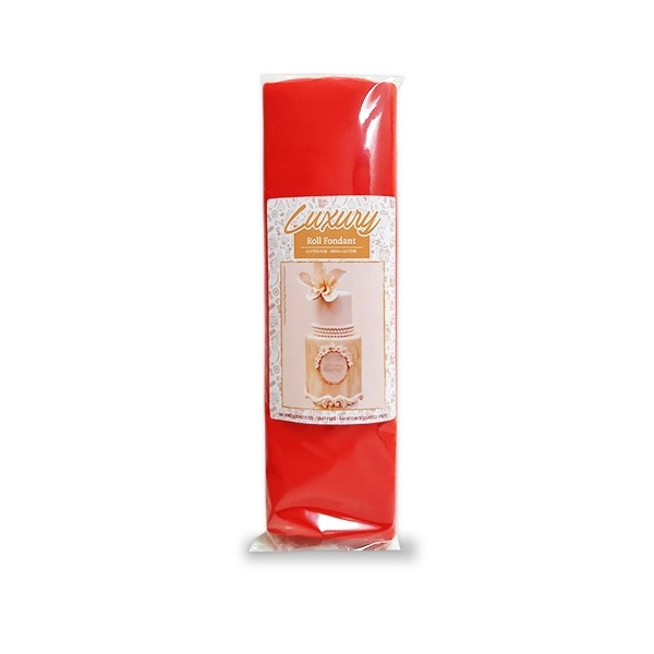 Pasta di zucchero Madam Loulou Luxury rossa 1 kg - Madam Loulou in vendita su Sugarmania.it