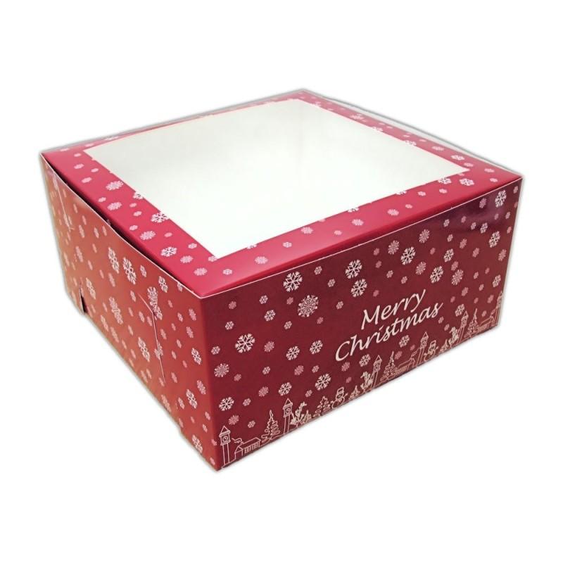 SET 10 scatole Natale 20 x 20 cm -  in vendita su Sugarmania.it