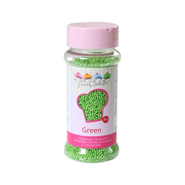 Mompariglia FunCakes VERDE 80 g - Funcakes in vendita su Sugarmania.it