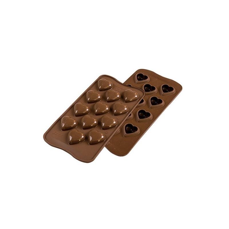 Stampo in silicone per cioccolatini My love Silikomart - Silikomart in vendita su Sugarmania.it
