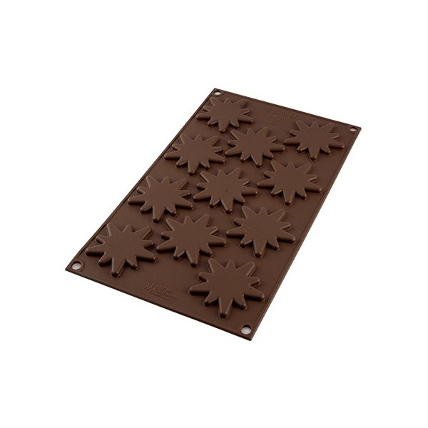 Stampo in silicone per cioccolatini Choco Flash Silikomart - Silikomart in vendita su Sugarmania.it