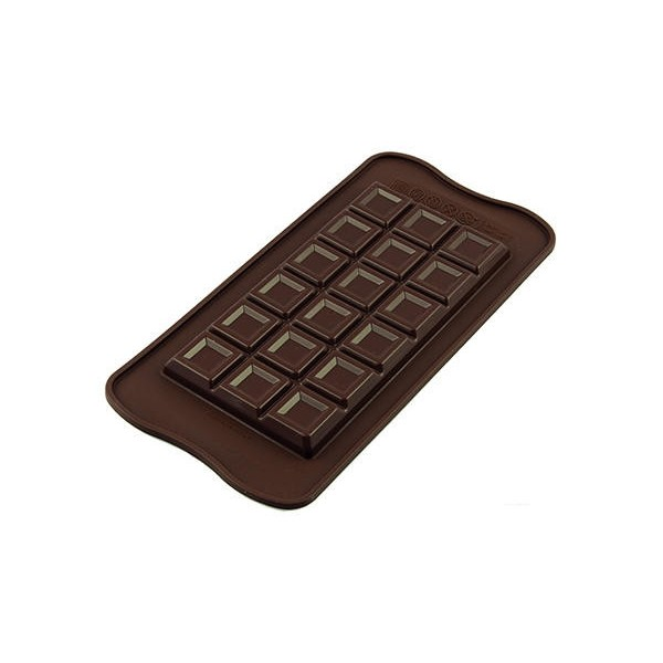 Stampo in silicone per cioccolatini Tablette Choco Bar Silikomart - Silikomart in vendita su Sugarmania.it
