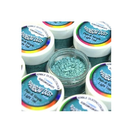 Plain&Simple - Light Teal - Rainbow Dust in vendita su Sugarmania.it