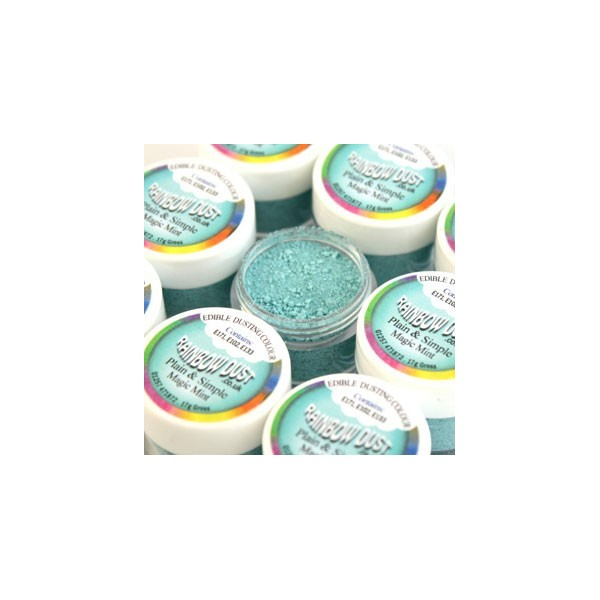 Plain&Simple - Magic Mint - Rainbow Dust in vendita su Sugarmania.it